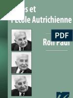 Mises et l'ecole autrichienne - Ron Paul.pdf