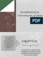 Enseñanza Individualizada (Enseñanza Programada, Tutoriales, Programas Ramificados, Ejercicios y Prácticas) (1)