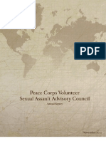 Peace Corps Sexual Assault Advisory Council Annual Report  |  November 2012
