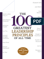 52815309 100 Greatest Leadership Principles of All Time