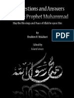 Ten Questions And Answers About The Prophet Muhammad (PBUH)