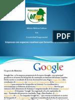 Google Creatividad Empresarial