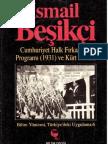 Cumhuriyet Halk Fırkası Programı (1931) ve Kürt Sorunu-İsmail Beşikçi