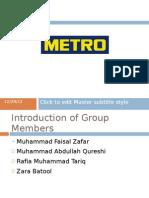 Metro compensation slides
