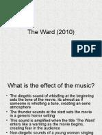 The Ward Analysis