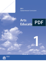 Saskatchewan Arts Education Curriculum 2011