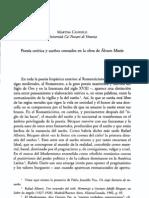 Poesía onírica y sueños contados, crítica Álvaro Mutis