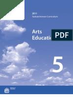 Saskatchewan Arts Education 2011 - 5