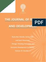 """Energy, Polluting Emissions, and Economic Development in Tunisia,"" by Rania Ben Hamida, Amina Feki, and Sami Hammami"
