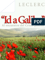Id a Galilea - Eloi Leclerq (Editorial Sal Terrae)