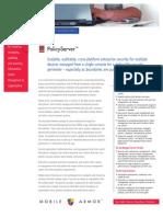 PolicyServer Datasheet
