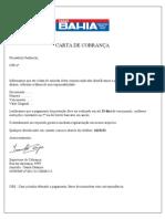 Carta de Cobranca