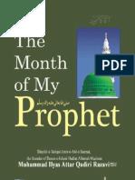 The Month of My Prophet Sallal Laahu Ta'Ala Alayhi Wa Aalihi Wa Sallam