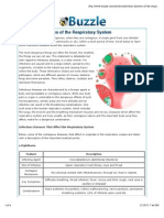 infectious diseases of the respiratory system