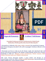 Bhagavath Ramanuja Power Point