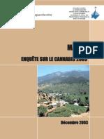 Morocco cannabis survey 2003