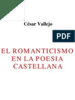 El Romanticismo en La Poesia Castellana