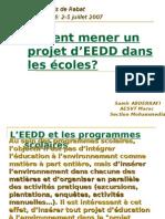 Projet EEDD Ecoles