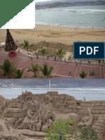 Natal na areia