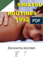 Zen Shiatsu Routines - 1992