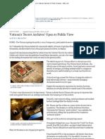 Vatican's 'Secret Archives'