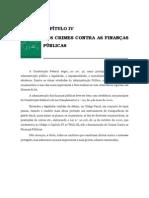 Volume 03 - CapÍtulo IV – Dos Crimes Contra as FinanÇas pÚblicas