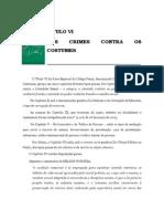 Volume 03 - tÍtulo Vi - Dos Crimes Contra Os Costumes