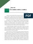Volume 03 - tÍtulo Vii – Dos Crimes Contra a FamÍlia