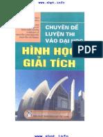 Chuyen de Luyen Thi Dai Hoc Hinh Hoc Giai Tich