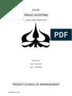 RESUME Fraud Auditing