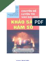 Chuyen de Luyen Thi Dai Hoc Khao Sat Ham So
