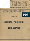 FM21 75 Scouting Patrolling and Sniping 1944