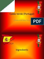 Caldo Verde and Pollo Al Ajillo