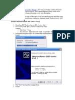 Setup Windows Server 2003 Bag 2