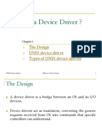 Unix Device Drivers