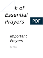 13446849 Book of Essential Christian Prayers Daily Prayers