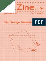 KZine; Volume 1, Issue 3; The Orange Awareness Issue