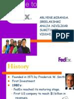 Fedex ppt