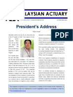 Actuarial Society of Malaysia OctNewsletter