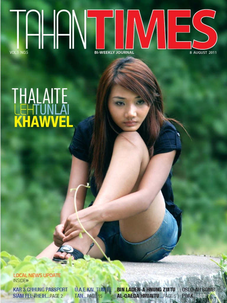 Tahan Times Journal Vol  1  No  5 + Supplement, Aug 8, 2011