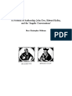 59077569 a Problem of Authorship John Dee Edward Kelley and the Angelic Conversations