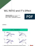 vlsi / cmos w/l ratio