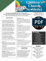 Newsletter 12-30-12