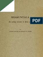 Shakuntala by Kalidasa (1914)