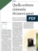 Giorgio Vasta Recensisce Quattro Libri Fuori Dal Mainstream - La Repubblica 30.12.2012