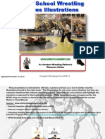 High School Wrestling Rules Illustrations - Call the Rules Book (2013 Edition)