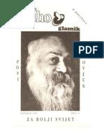 Osho Glasnik Br. 11, Oct 1991 - Politika