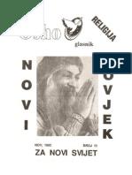 Osho Glasnik Br. 13, Nov 1993 - Religija