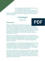 Antropología y Cosmologias