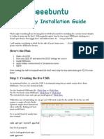 Eeebuntu Installation